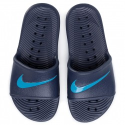 Chanclas Nike Kawa Shower azul