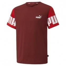 Camiseta Puma Power Granate...