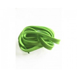 Cordón plano verde flúor...