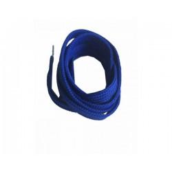 Cordón plano azul royal 120 cm