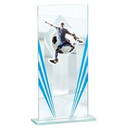 Trofeo fútbol cristal desde...