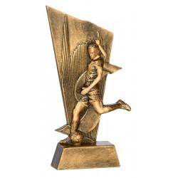Trofeo jugador de fútbol