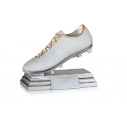 Trofeo fútbol bota de plata