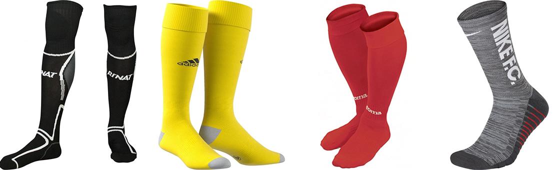 Todo tipo de calcetines para fútbol entreno y partido.