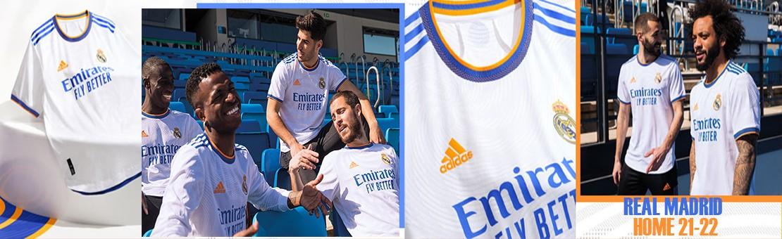 Camiseta Real Madrid Home 21-22 | Gransport fútbol especialista